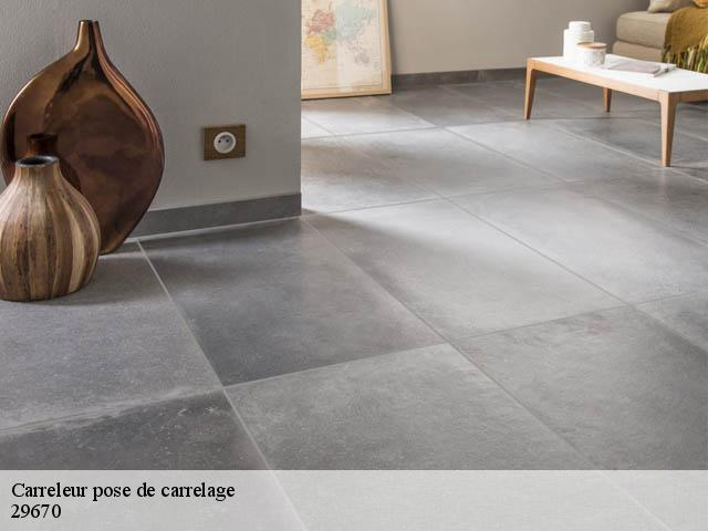 Pose de carrelage  29670