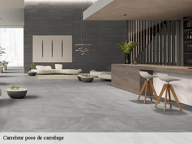Pose de carrelage  29400