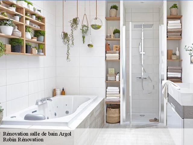 Rénovation de salle de bain à Argol tél: 02.46.26.02.00