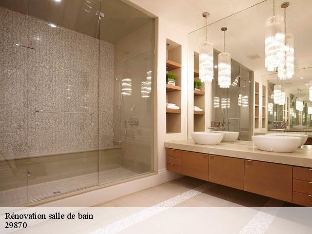 Rénovation de salle de bain à Lannilis tél: 02.46.26.02.00